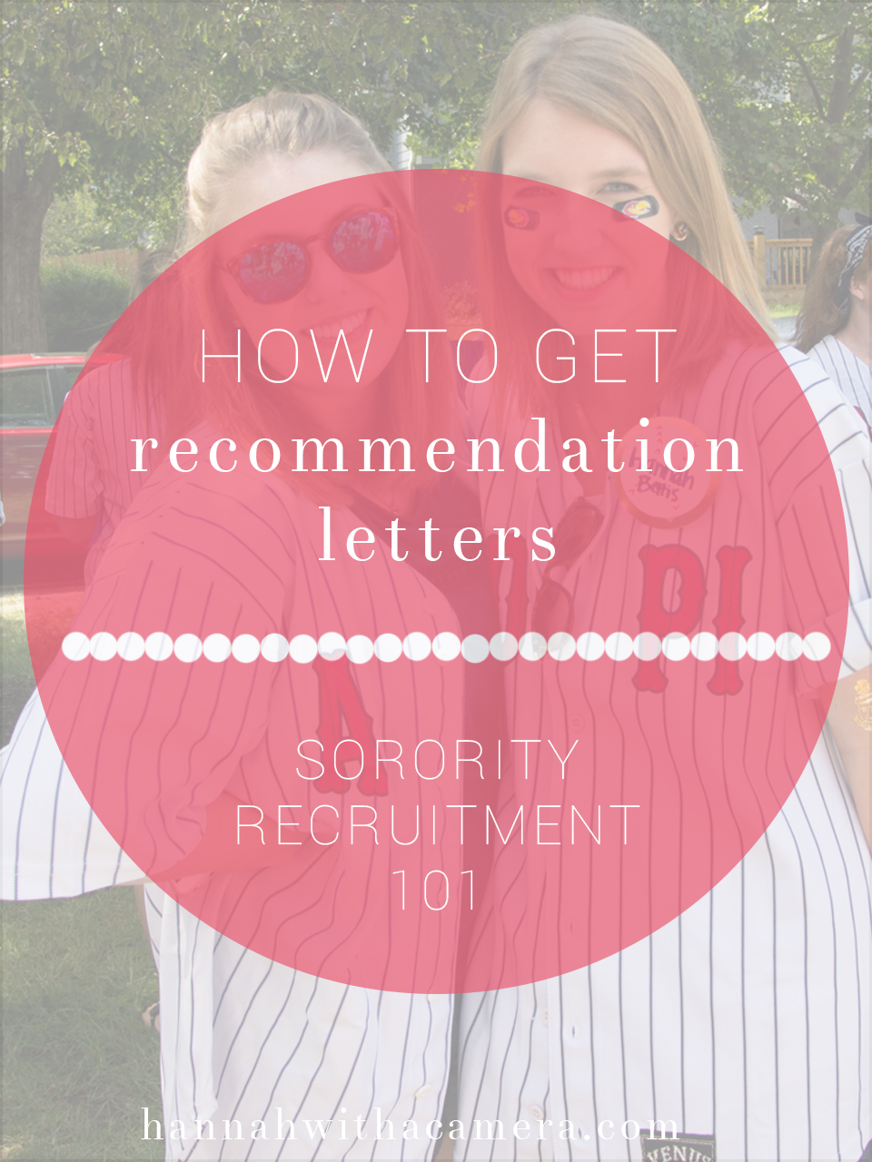 How to get recommendation letters sorority recruitment 101 thecheapjerseys Image collections